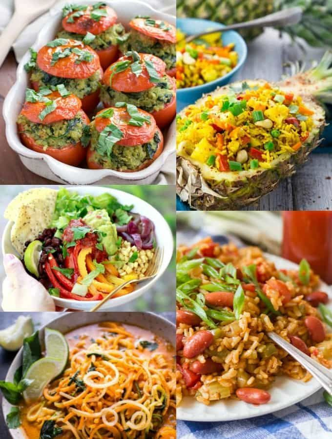 These 35 vegan dinners are perfect for busy days! All recipes are plant-based, super easy to make, healthy, and incredibly delicious!