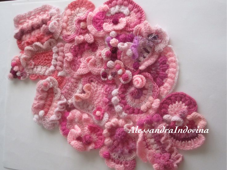 Freeforn crochet