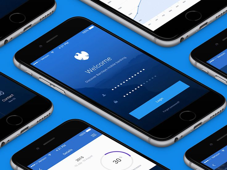 Barclays mobile banking by Pawel Lachowicz