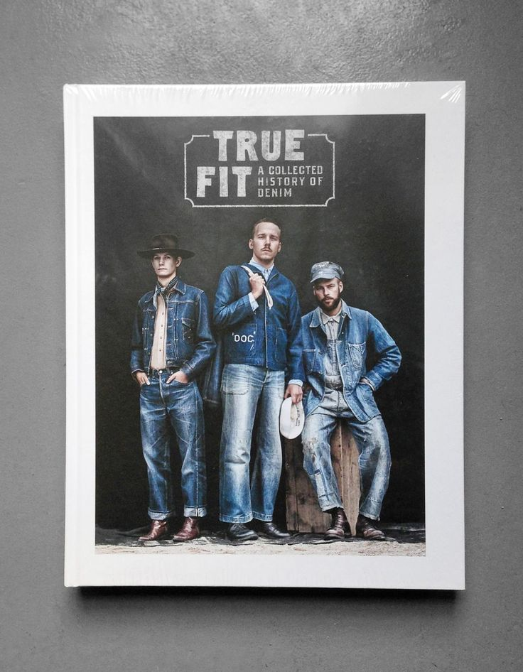 True Fit a collected history of denim via Rag Fair. Click on the image to see…