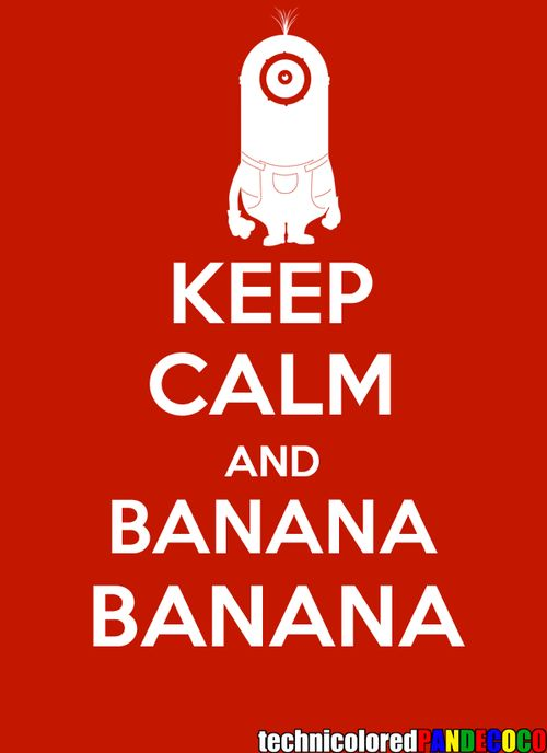 Keep Calm - Minion by ~jokerjester-campos