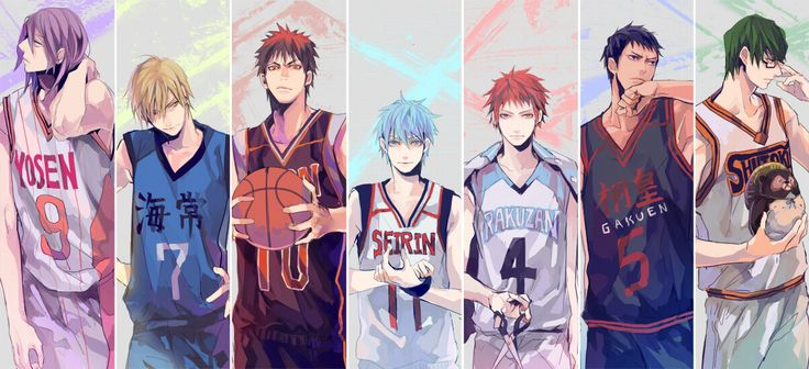 Kuroko no Basket - I don't know if it's weird or not, but I cried just during the OP of the first episode of the second season... just because I was so happy... I missed my babies so much. T_T
