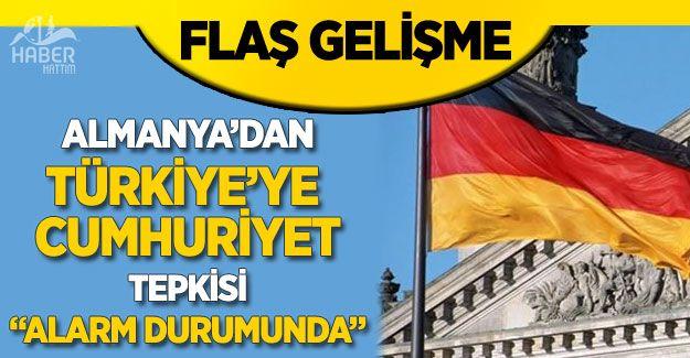 Almanya'dan Türkiye'ye alarmlı basın eleştirisi!