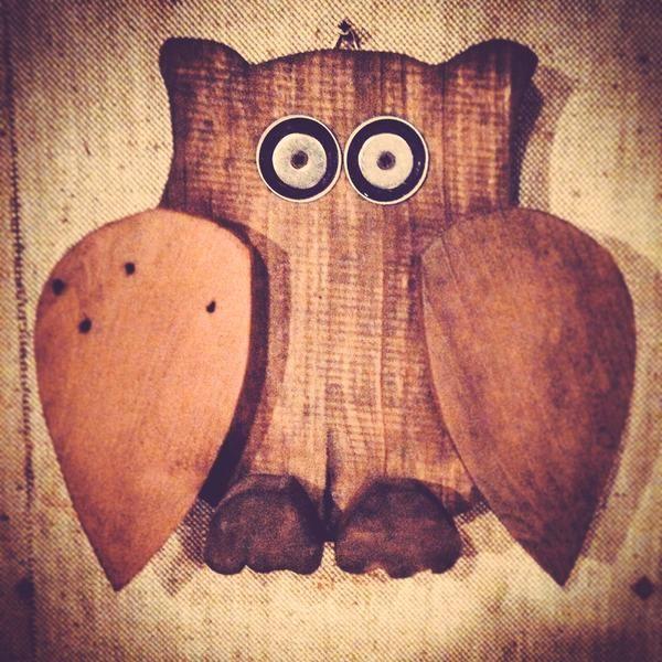 "TheBasementShop on Twitter: ""#owl - #recycle #homedecor #riciclo  #design #handmade #pallets #basement shop #pallet #palletfurniture http://t.co/HnuhzNEnqi"""