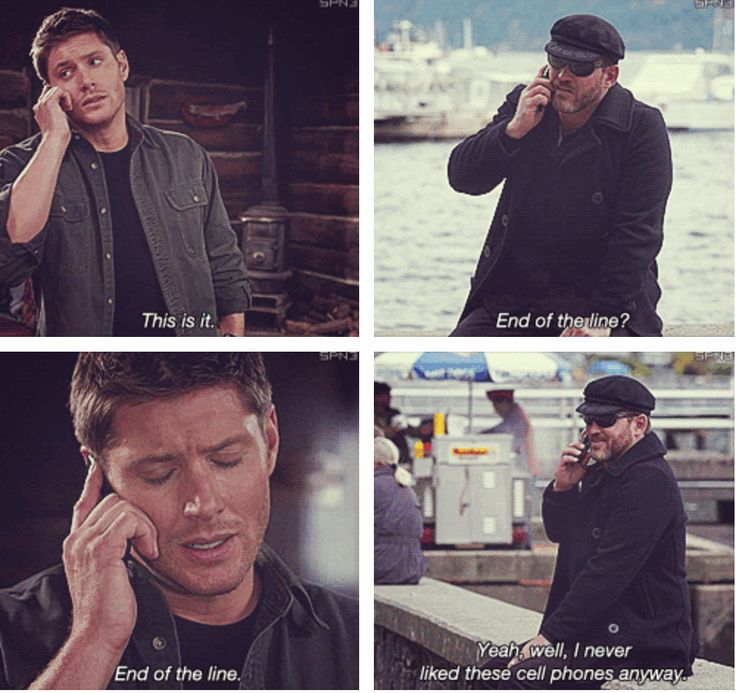 (gif set) 8x10 Torn and Frayed; Dean and Benny [Dean looks so sad to say that...]