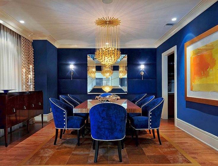 fabulous dining room in captivating royal blue how to use diverse shades of blue to craft brilliant 14 red furniture
