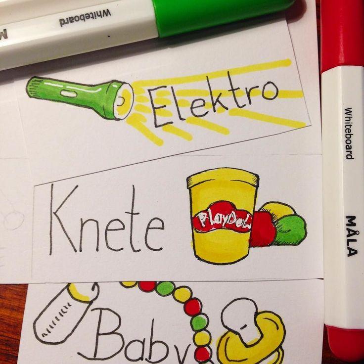 Ich bin #Babysitter und male Label für #spielzeugkisten mit #Mala von #ikea #ikeahack #kids #kinderzimmer #kinderzimmerdeko