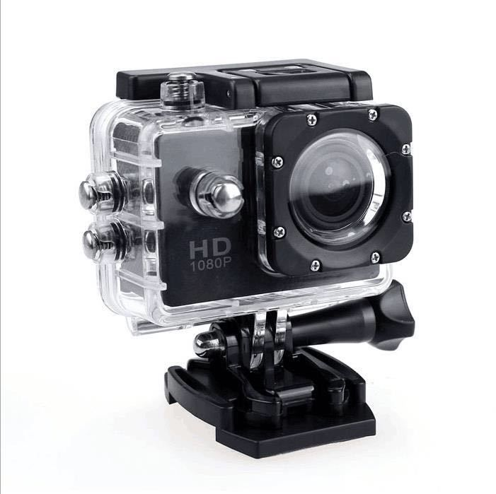 1080p Hd Sports Go Action Camera Pro Waterproof Helmet Camera With