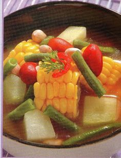 Sayur Asam Bandung @ www.masakkue.blogspot.com | International Food Recipes | Resep Masakan & Makanan Indonesia