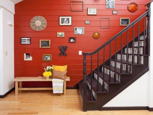 Les 25 meilleures id es de la cat gorie lambris peints sur pinterest assiette murale et lambris - Lambris peint ...