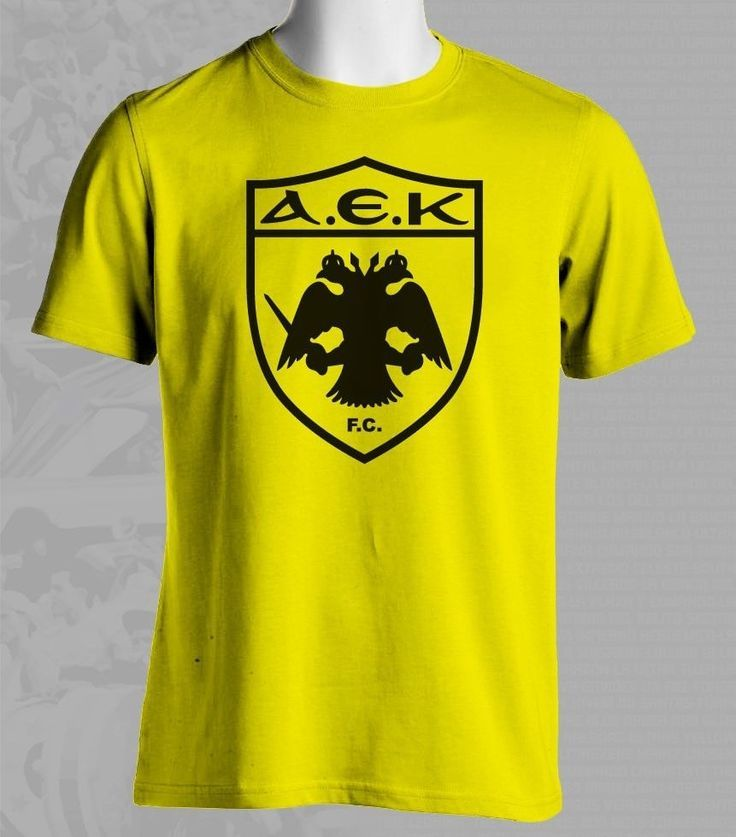 AEK Athens F.C. Greece Football Soccer T Shirt