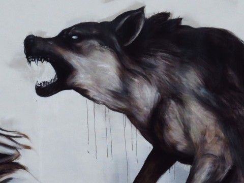 Evoca1 - Running With The Wolves @ Miami Art Basel 2013