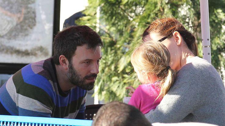 Ben et Jennifer veulent élever leurs enfants ensemble--Avec leur deuxième fille, Seraphina, en janvier 2013, à Santa Monica, en Californie