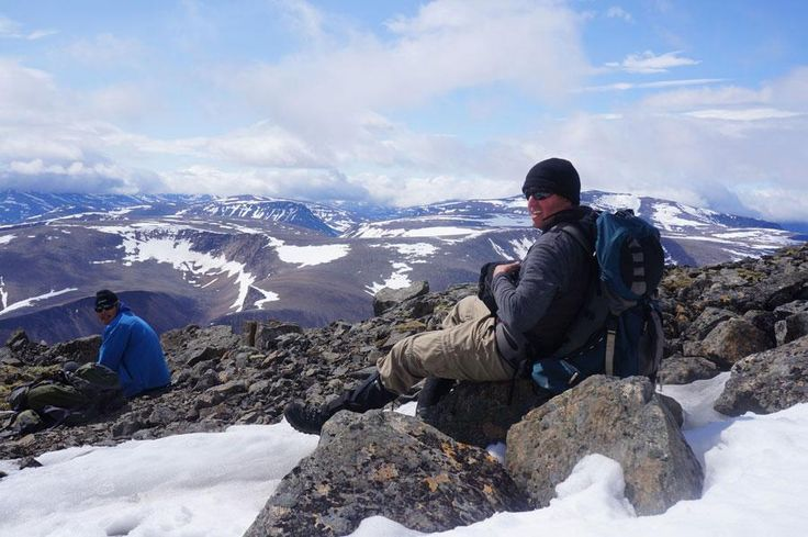 At the summit of Mount Cauvik in #Quebec http://www.opxpeditions.com/kuururjuaq/gallery #climbing #hiking #trekking