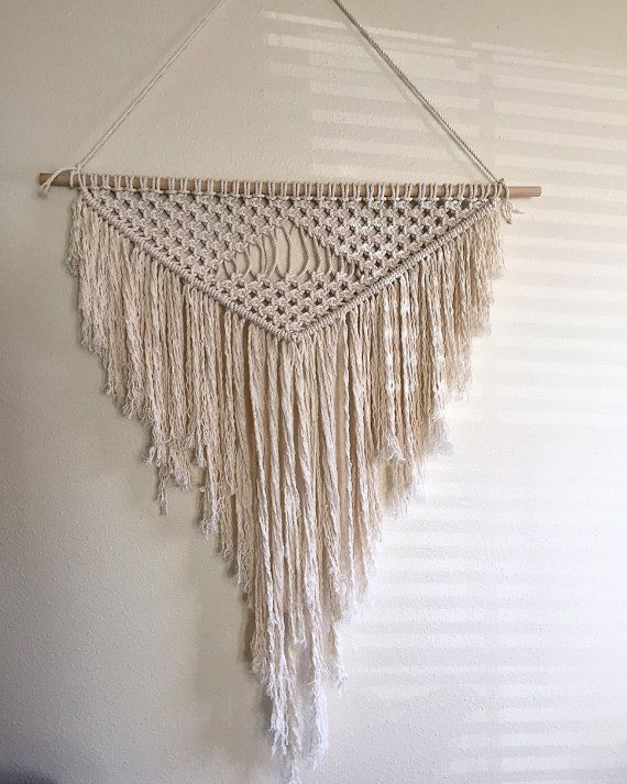 1000 images about macrame weavings on pinterest macram magical thinking and wall hangings. Black Bedroom Furniture Sets. Home Design Ideas
