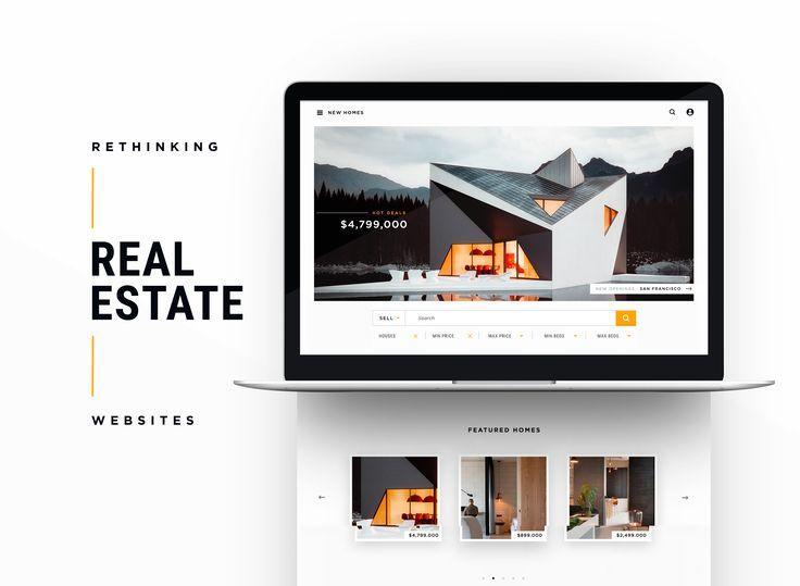 다음 @Behance 프로젝트 확인: \u201cRethinking Real Estate Websites\u201d https://www.behance.net/gallery/49825223/Rethinking-Real-Estate-Websites