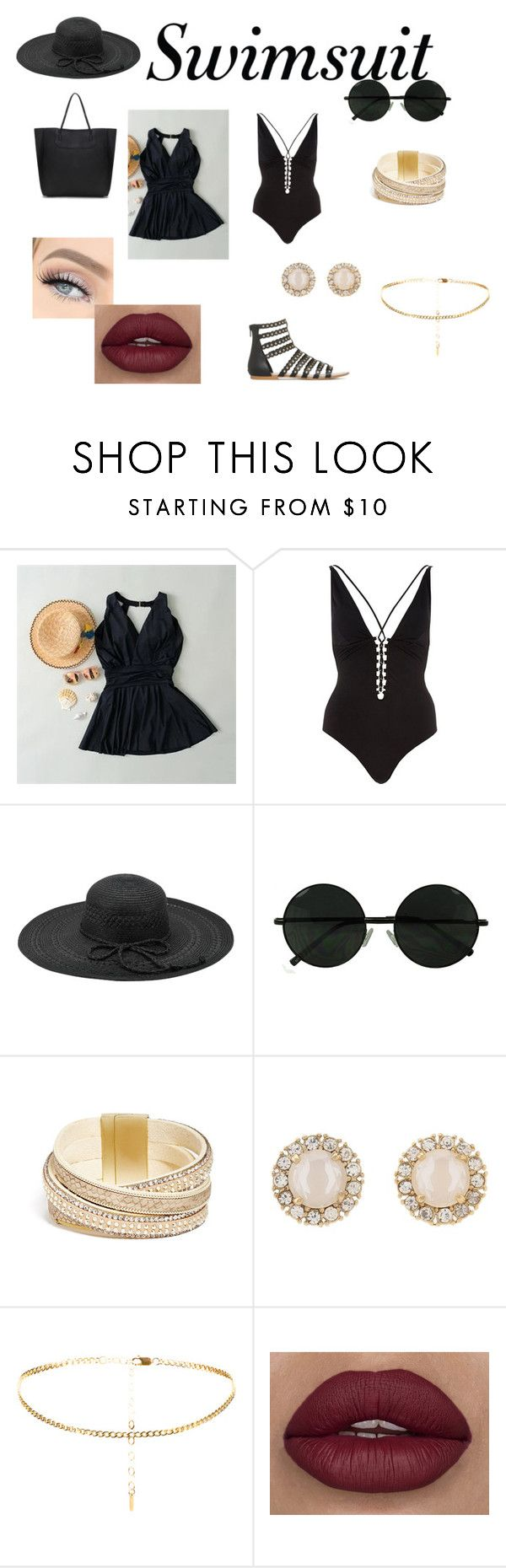 Summer by olgasanchez09 on Polyvore featuring Belleza, Fits, Kate Spade, GUESS and River Island