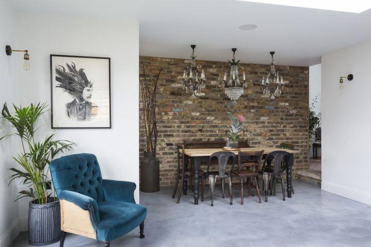 Kempe SW16 - concrete floor - london houses - shootfactory location