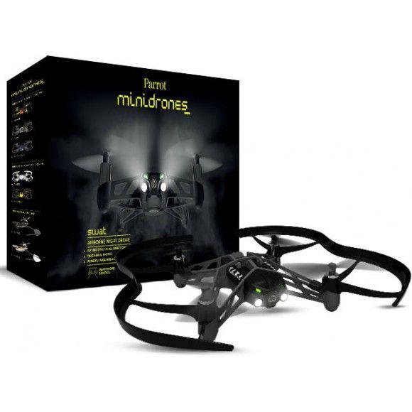 Parrot - Airborne Night Drone Swat (PF 723100) / Drone et avion connecté PF 723100 : Villatech