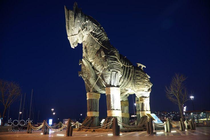 Popular on 500px : Truva Atı by AliHacahmet