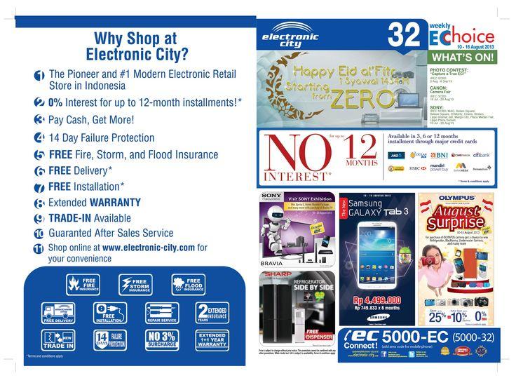 Catalogue store edisi 32 periode : 10-16 Agustus 2013
