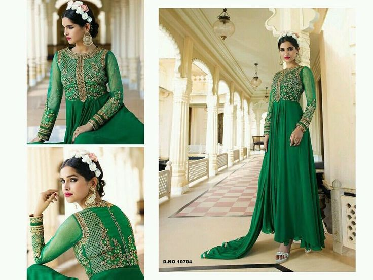 Designer Dress Indian Salwar kameez Anarkali Bollywood Pakistani Suit P RYL 704.