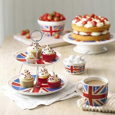 Looking for inspiration for the family Queen's Jubilee tea party we are planning the first weekend of June.