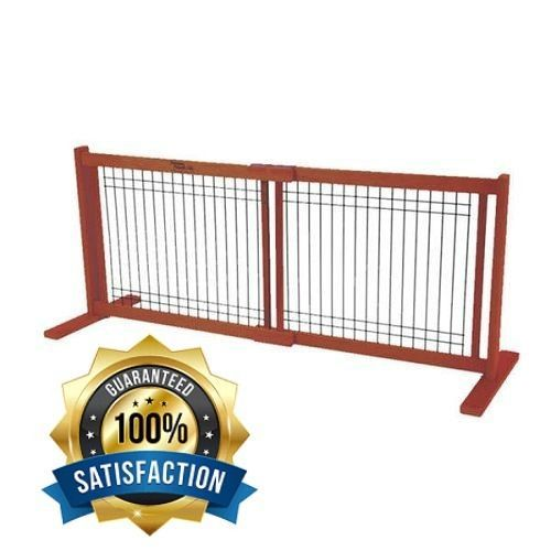 Dog Gates For The House Pet Supplies Freestanding Extra Wide Pet 20 Inch Tall #DynamicAccents