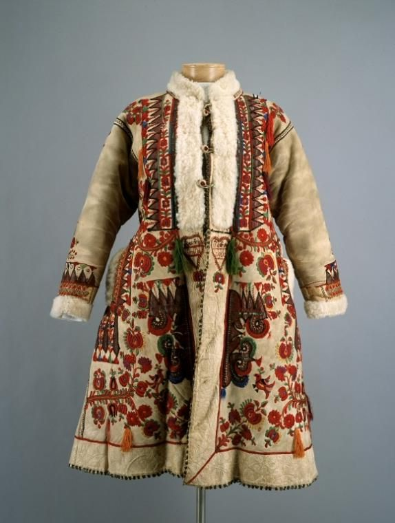 Woman's coat, Central Europe (Romania, Hungary), c. 1900.