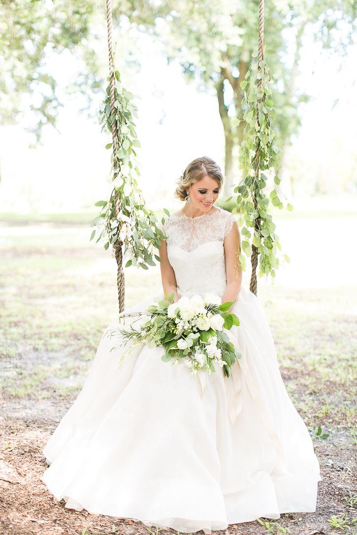 Emerald wedding dress  Organic emerald wedding at Up the Creek Farms  Wedding Planning
