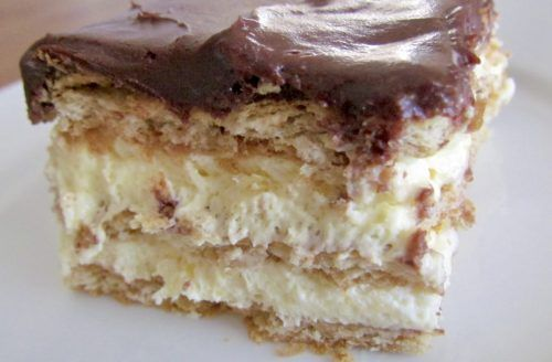 How To Make Eclair Cake Without Graham Crackers