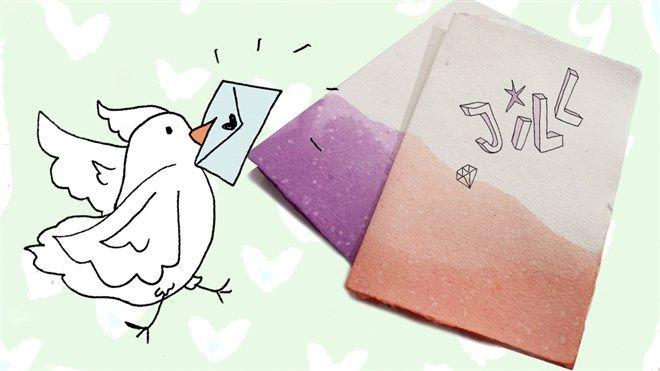DIY Pimp je postpapier en enveloppen | Jill | AVROTROS