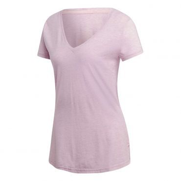 bf7c2e29a4d ... De Wit Schijndel. adidas ID winners v-neck shirt dames true pink grey  six