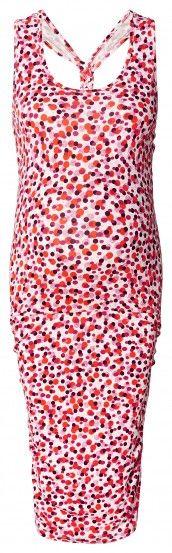 Ženska haljina bez rukava za trudnice ESPRIT MATERNITY - koraljna