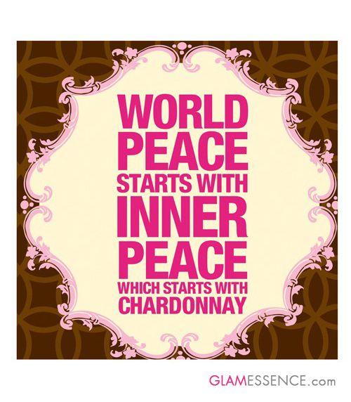 Hemel-en-Aarde Chardonnay guarantees inner peace!