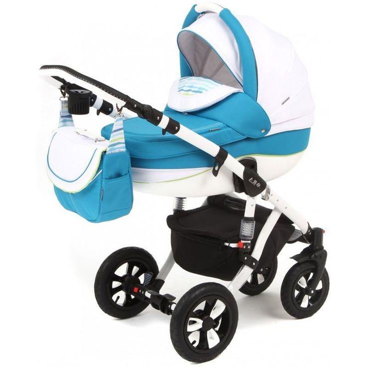Детская коляска Adamex 2в1 Avila 18P  Цена: 300 USD  Артикул: mp60428  Детская коляска Adamex 2в1 Avila – новинка 2015 года. Легкая алюминиевая рама с двойным амортизатором, накачиваемые колеса, два из которых поворотные, обеспечивают комфорт передвижения по любому покрытию. Благодаря применению адаптера типа click-clack можно легко и быстро менять модули. Модель отличается современным и элегантным дизайном. Люльку и прогулочный блок можно установить лицом или спиной по направлению движения…