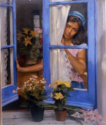 Vicente Romero Redondo 1956 | Spanish Figurative painter | Tutt'Art@ | Pittura * Scultura * Poesia * Musica |