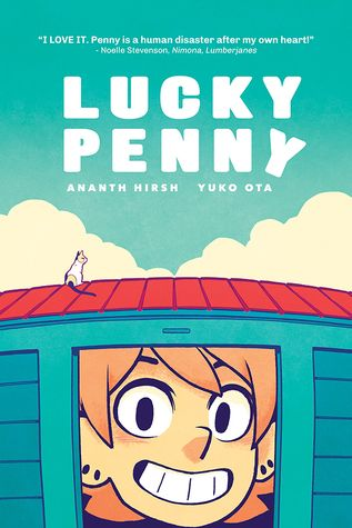 (Gr 10+) Walking human disaster Penny is having such a run of bad luck she's decided she's cursed. With shades of Scott Pilgrim and more laugh out loud moments than I can remember, read this for some solid relatable hilarity.