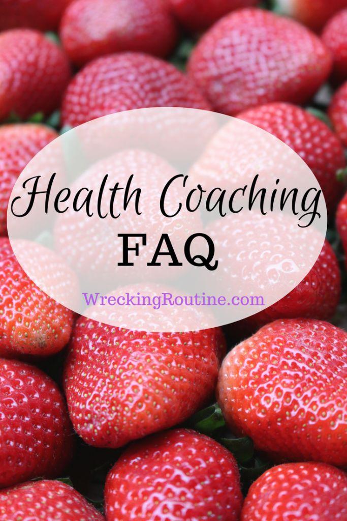 Health Coaching FAQ