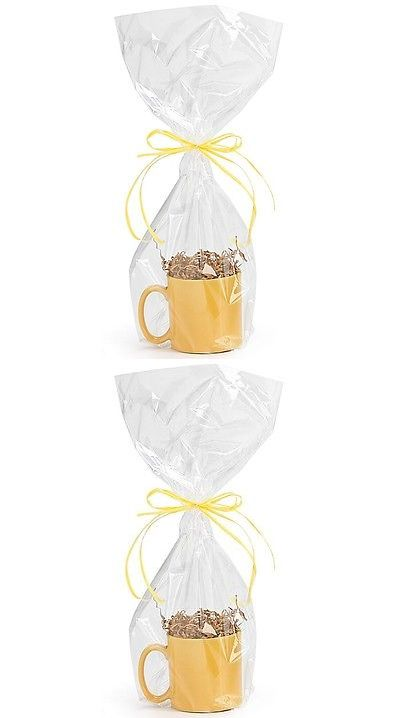 Gift Baskets and Supplies 16091: *You Choose Qty!* 9 X20 Crystal Clear Cellophane Gift Bags Cello Drop-In -> BUY IT NOW ONLY: $32.18 on eBay!