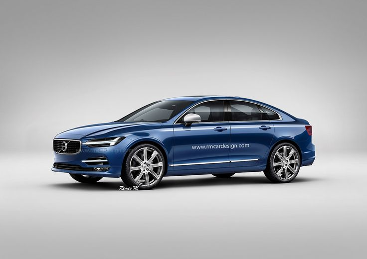 Volvo S60 > Photoshop renderings by Remco Meulendijk