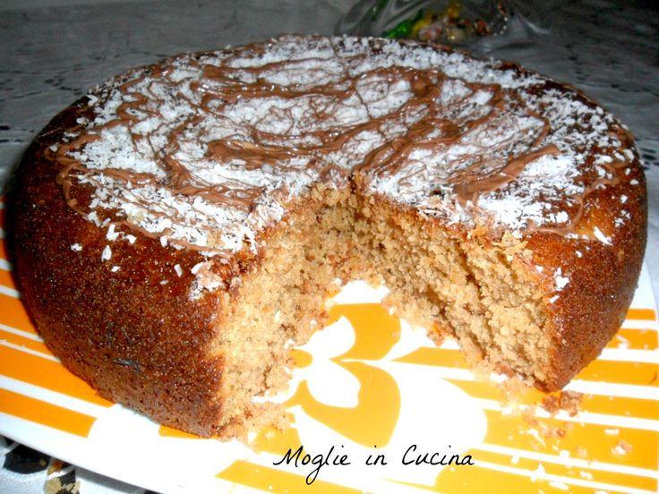 torta al cocco e nutella