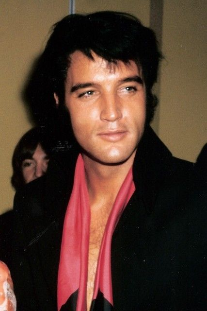 Elvis....Reliving the past...enjoying Aloha From Hawaii. 1973 doesn't seem so long ago.