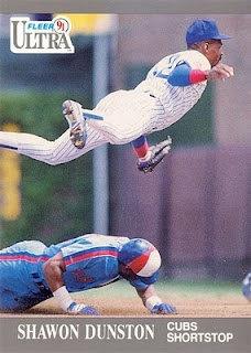 1992 Fleer Ultra Chicago Cubs Baseball Card by KarinaStruven, $2.00