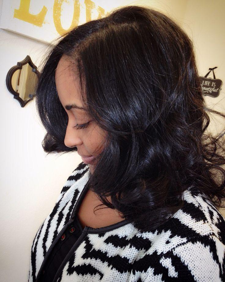 Silk Press on natural hair. Natural hair flat iron. Dallas ...