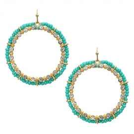 Mint Circle Earrings: Circles Earrings, Fabulous Jewelry, Mint Circles, Style, Jewelry Inspiration, Circle Earrings, Products