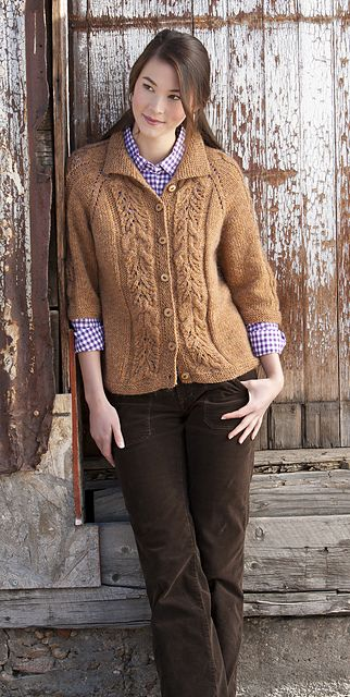 Ravelry: Market Jacket pattern by Tanis Gray.  Love this. Would be great in a dark red for Christmas