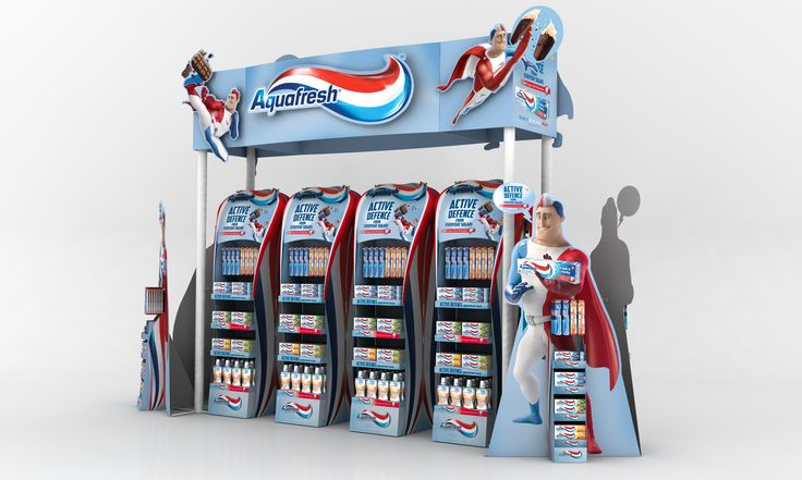 Aquafresh Mass Display