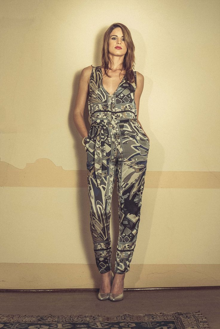 Spring Summer 2015 preview - printed jumpsuit