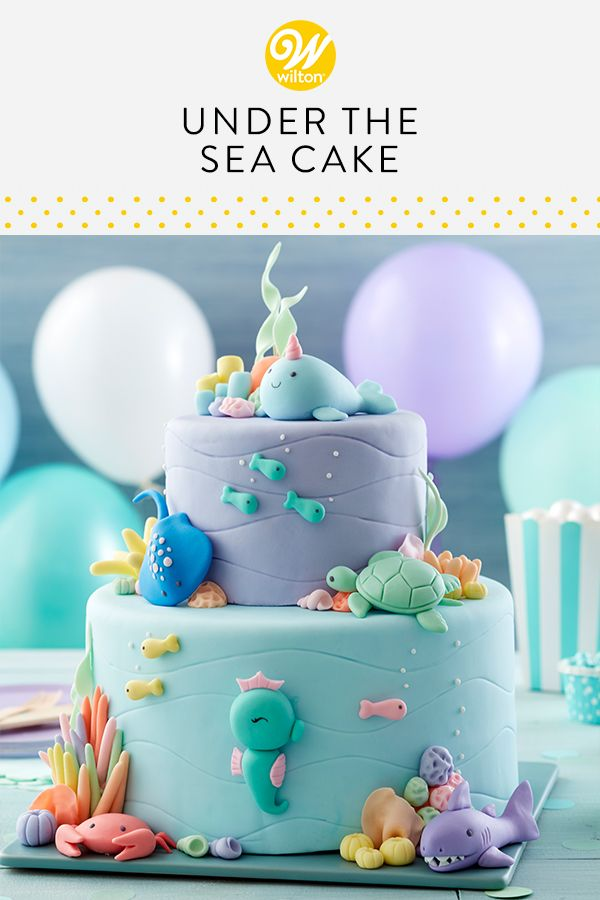Under the Sea Cake